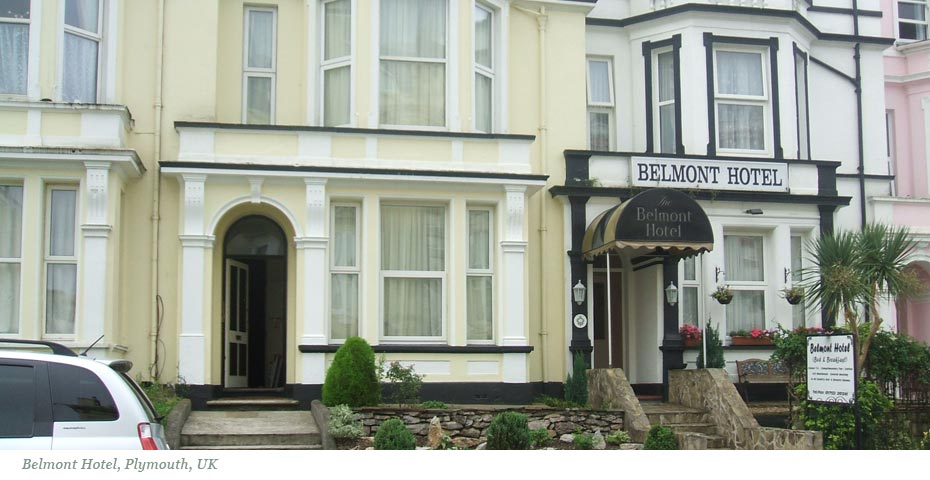 Belmont Hotel, Plymouth Hoe